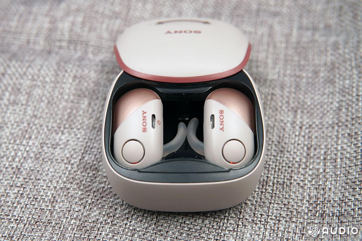 将降噪带给运动:SONY索尼 WF-SP700N TWS耳机体验-我爱音频网