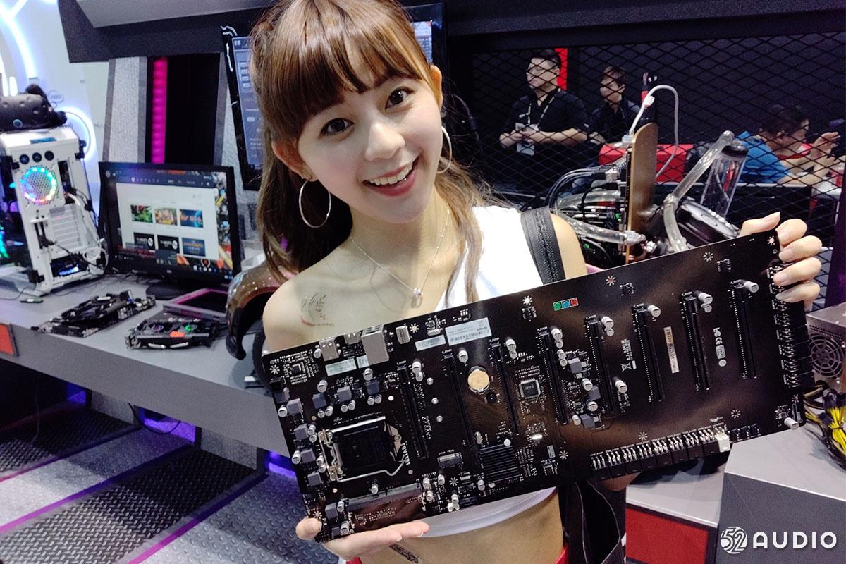 COMPUTEX 2018台北国际电脑展:Showgirl美女图赏大放送-我爱音频网