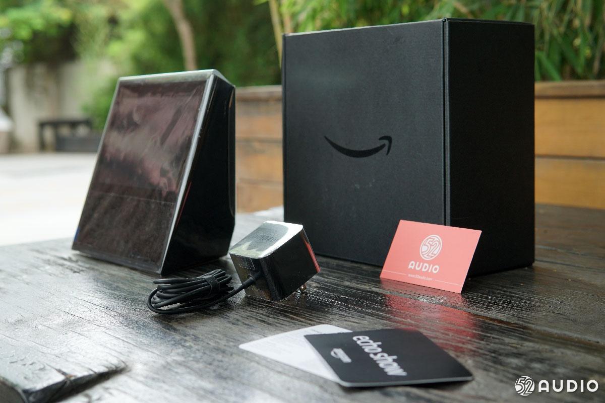 亚马逊Echo Show智能音箱开箱图赏:新增7寸大屏幕,交互新体验-我爱音频网