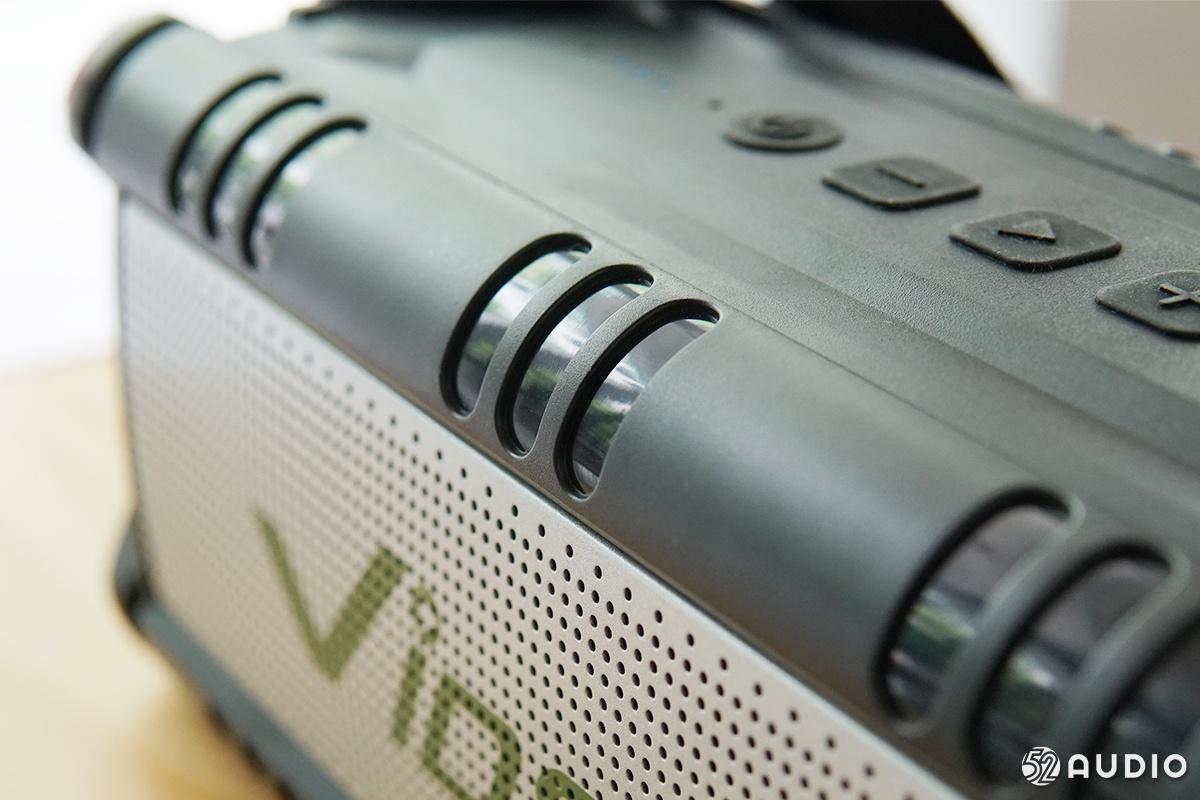 维迪声Vidson战神D8蓝牙音箱体验评测:专为户外旅行家而生-我爱音频网