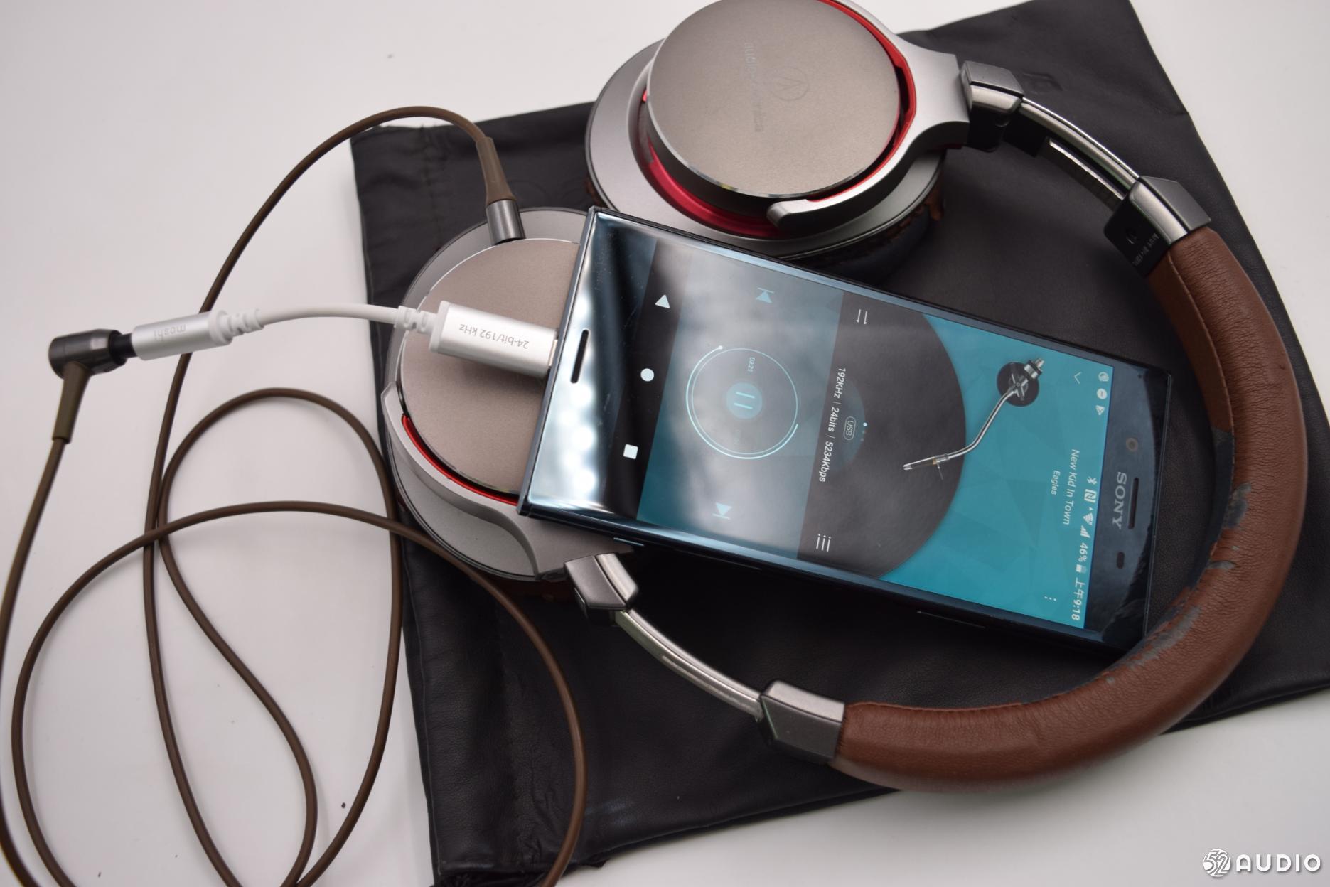 两款USB Type-C音频转换器体验:HTC USB-C to 3.5mm、Moshi摩仕Type-C音频转换器-我爱音频网
