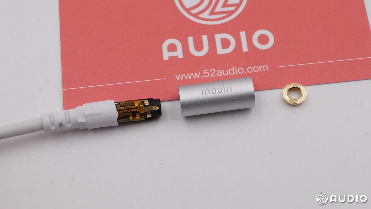 拆解报告:Moshi摩仕USB-C音频转接器-我爱音频网