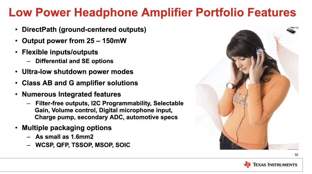 2018(冬季)蓝牙耳机产业高峰论坛:信本伟《TI耳机方案全解析》-我爱音频网