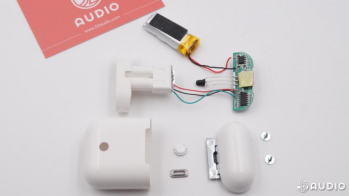 拆解报告:高仿苹果AirPods真无线蓝牙耳机-我爱音频网