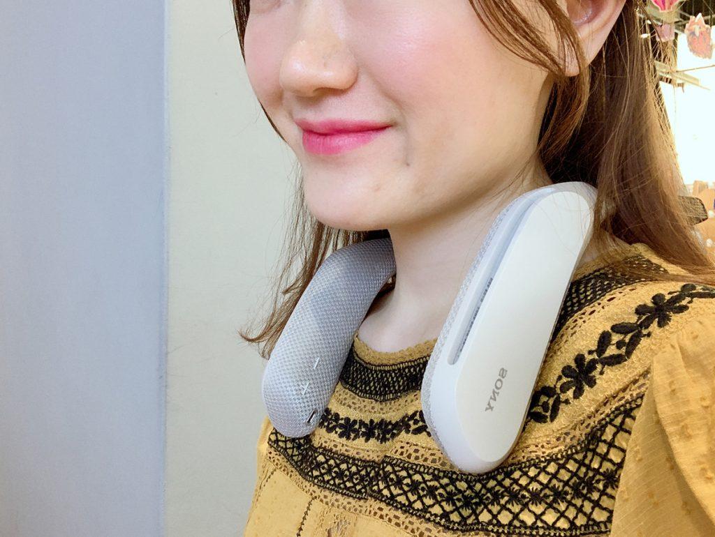 100天挑战100款耳机:第11款,索尼SRS-WS1无线可穿戴扬声器-我爱音频网
