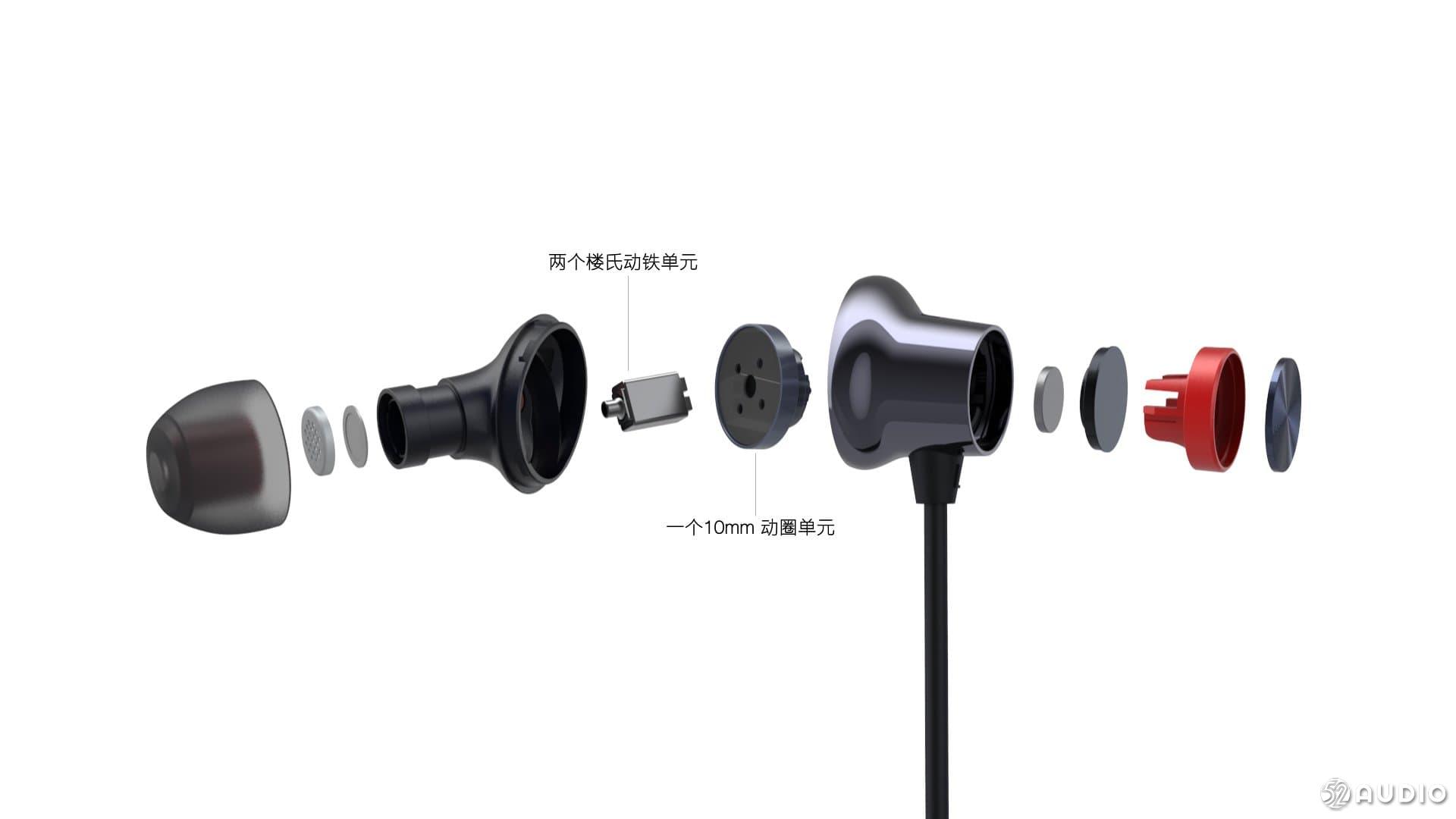 一加发布云耳耳机二代:内置楼氏动铁单元加10mm动圈的圈铁组合-我爱音频网