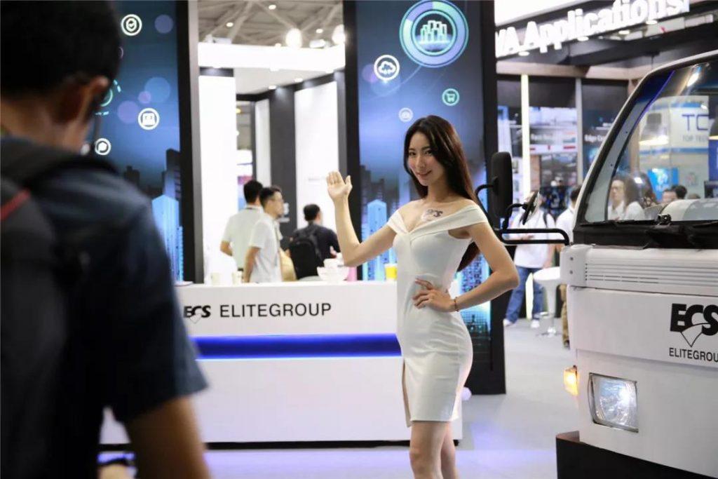 COMPUTEX 2019台北国际电脑展:Showgirl美女图赏合集-我爱音频网