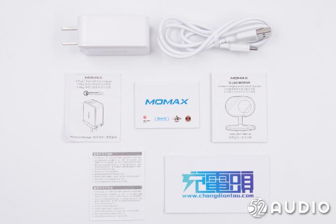 拆解报告:MOMAX摩米士Q.LED MIRROR无线充电美妆镜台灯(QL3)-我爱音频网