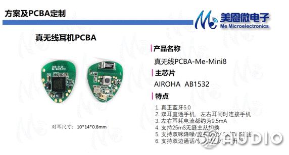 美恩微电子参加2019(秋季)中国蓝牙耳机产业高峰论坛,展位号A19-我爱音频网