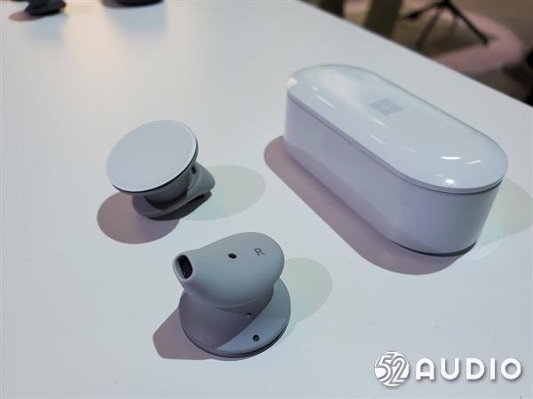 微软首发Surface Earbuds真无线耳机!-我爱音频网