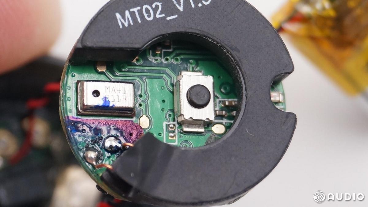 拆解报告:摩托罗拉Verve Buds 200真无线蓝牙耳机-我爱音频网