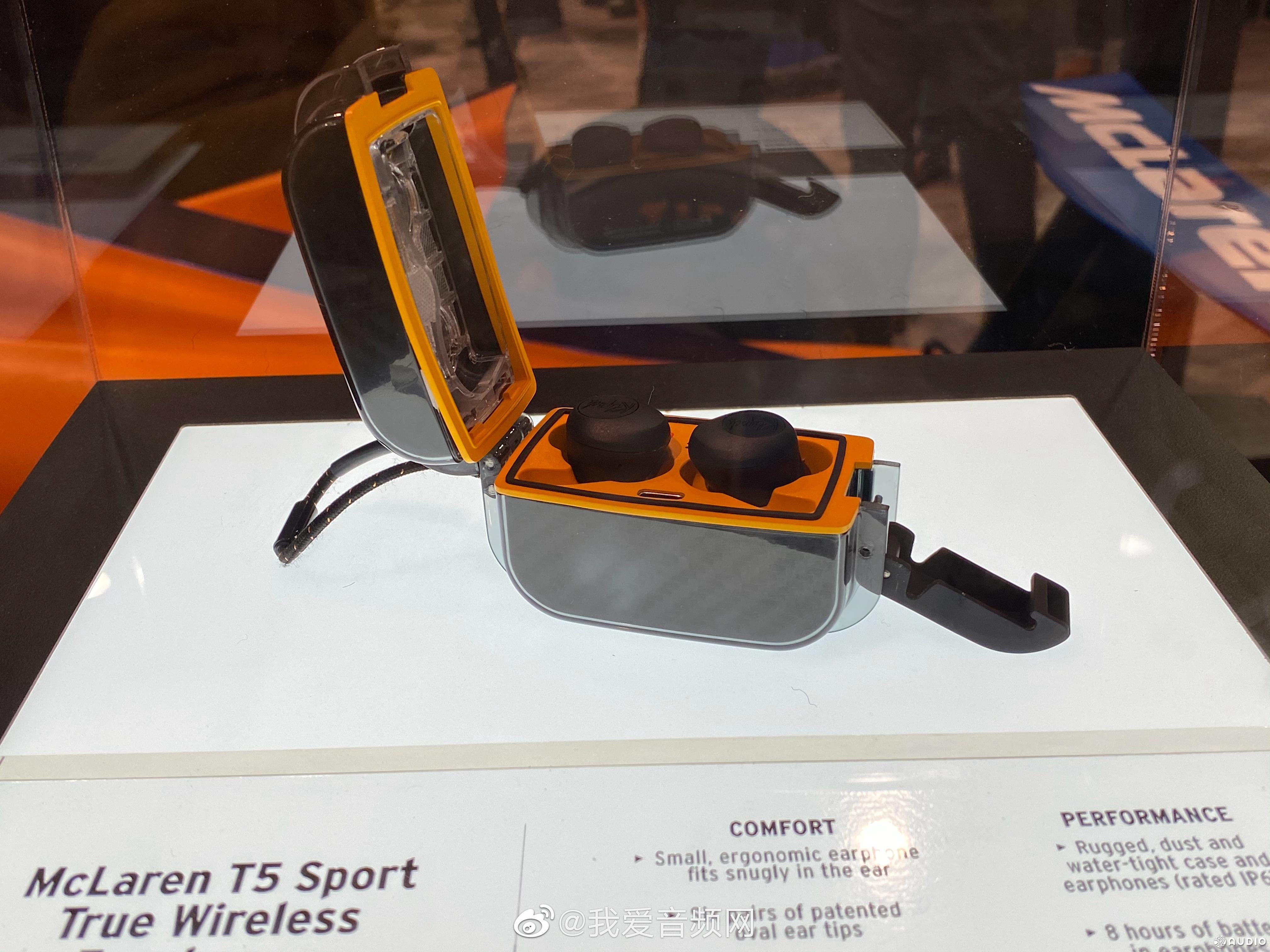 CES2020:Klipsch杰士与McLaren迈凯伦合作推出三款联名耳机-我爱音频网