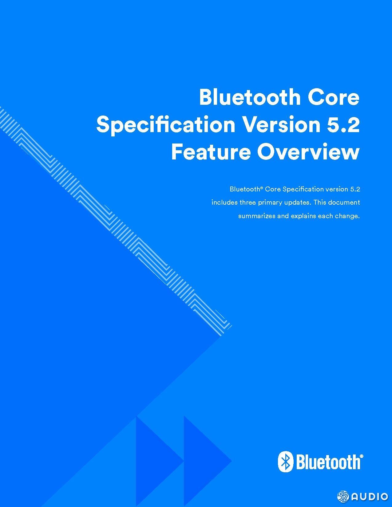 蓝牙5.2真的来了,支持新一代音频技术标准LE Audio-我爱音频网