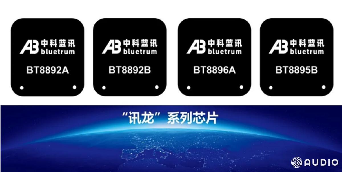 """重磅:中科蓝讯推出TWS顶配芯片""""讯龙""""BT889x系列,集成主动降噪-我爱音频网"""