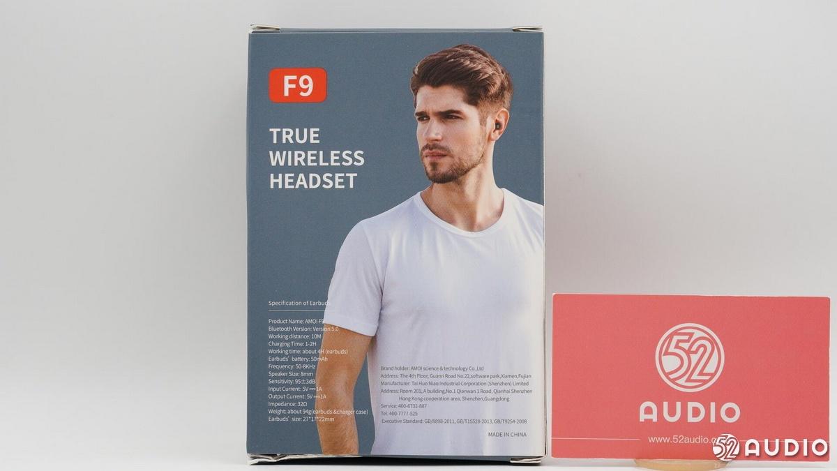 拆解报告:AMOI夏新 F9 TWS真无线蓝牙耳机-我爱音频网