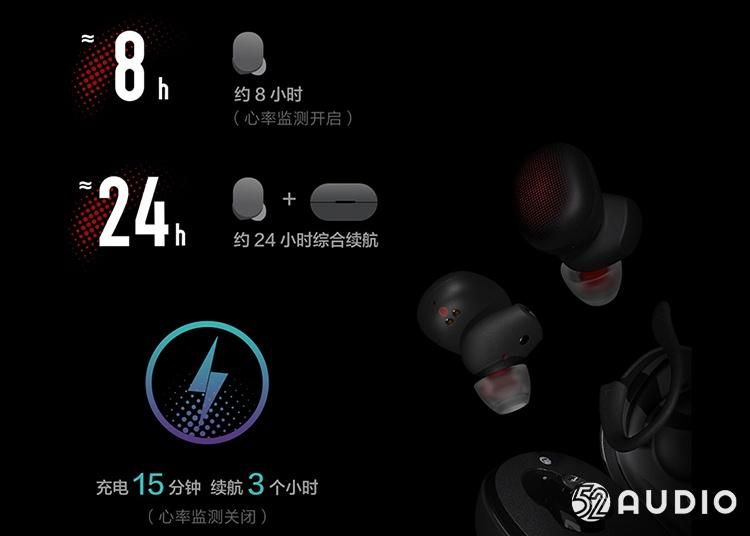华米首款真无线耳机上市 彰显运动范-我爱音频网