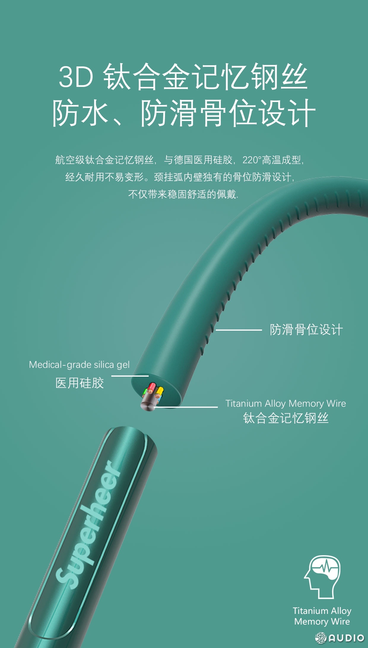 舒赫Superheer首款颈挂式无线蓝牙耳机NT3上市-我爱音频网