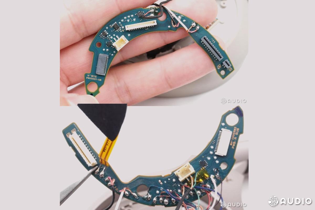 爆款分析:索尼降噪头戴耳机WH-1000XM4与前代详细拆解对比-我爱音频网