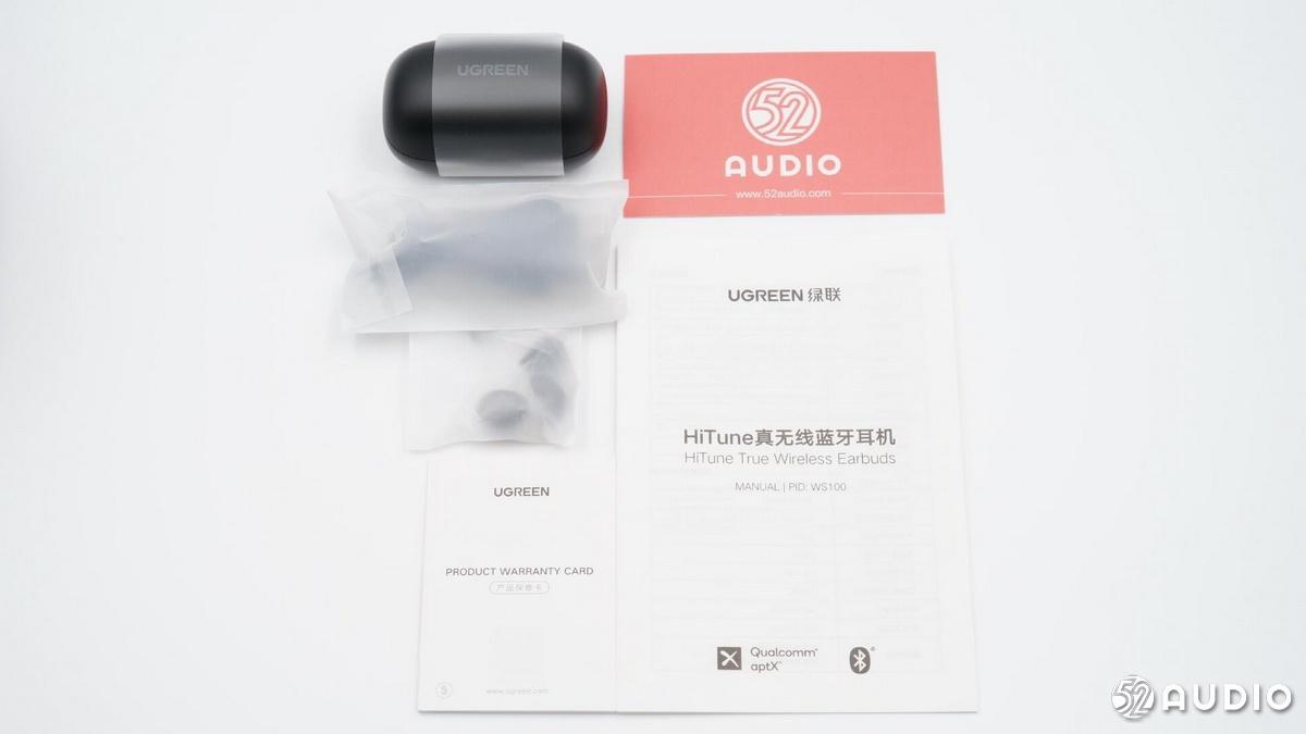 拆解报告:UGREEN绿联 HiTune WS100 真无线蓝牙耳机-我爱音频网