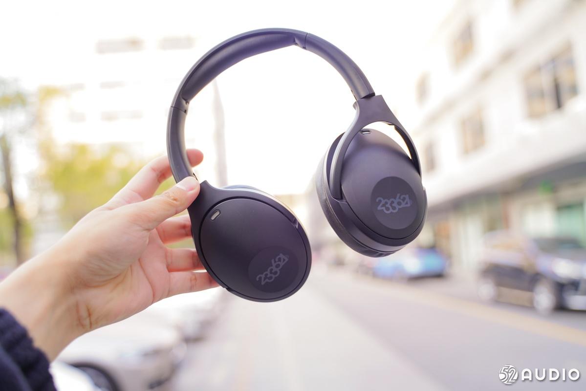 233621 Hush头戴蓝牙耳机,支持主动降噪,拥有100h超长续航-我爱音频网