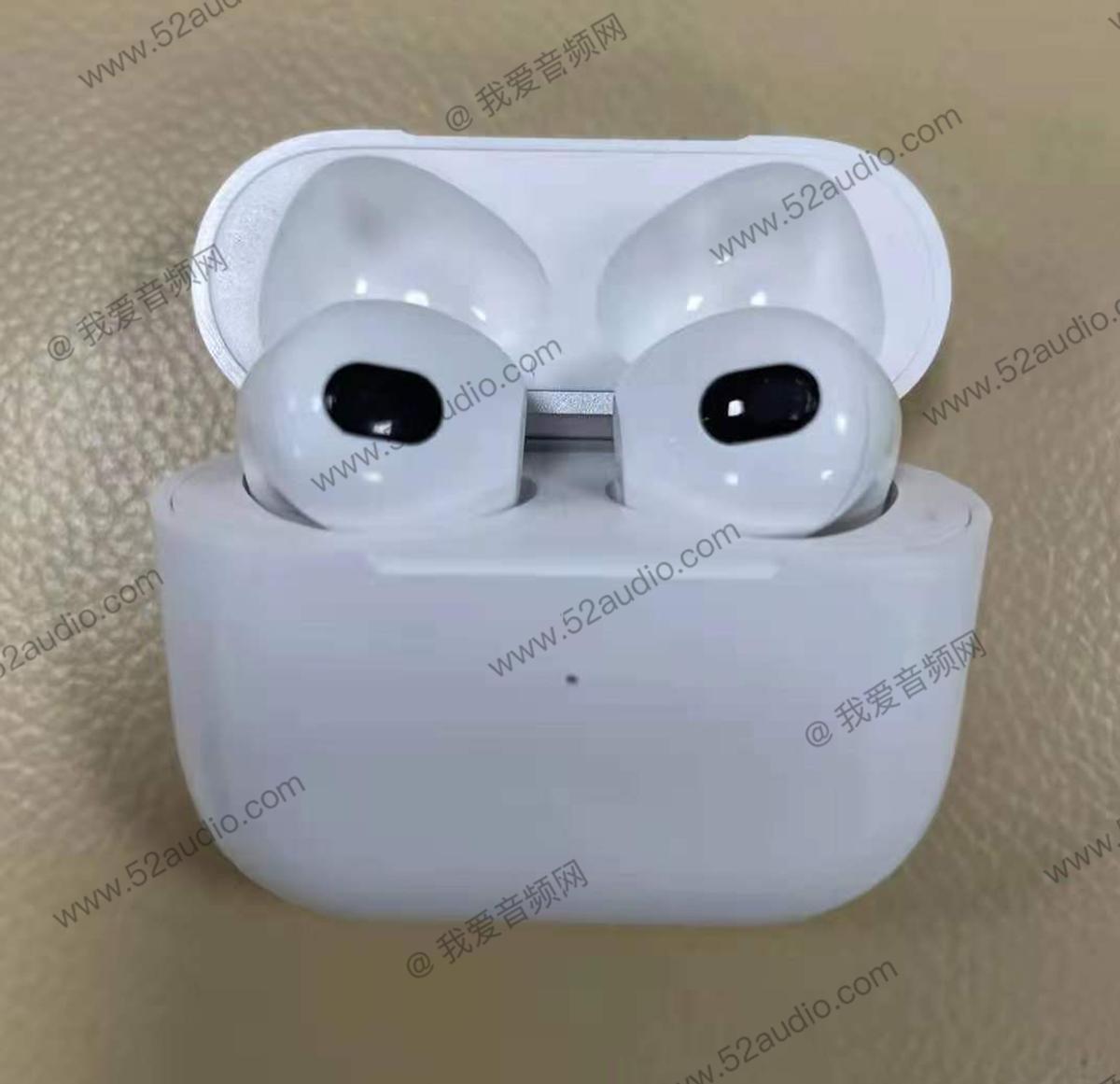 真机曝光!听,苹果 AirPods 3 来了-我爱音频网