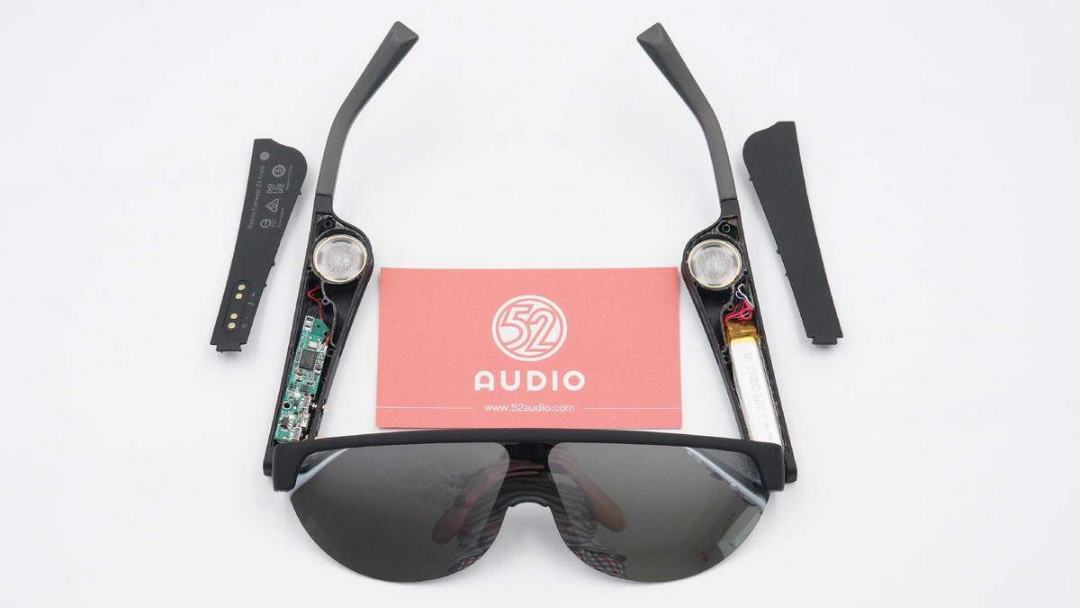 拆解报告:雷柏 Z1 Style 智能音频眼镜-我爱音频网