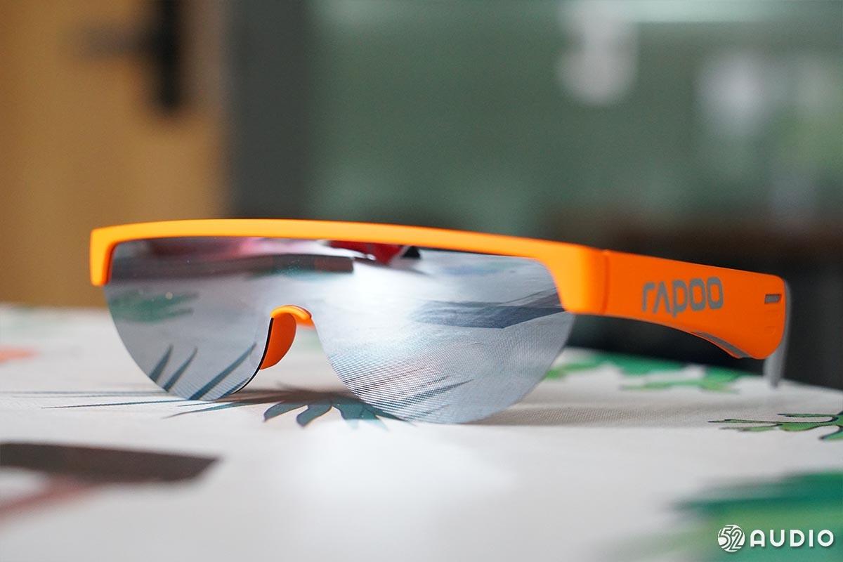 雷柏 Z1 Style智能音频眼镜,新颖立体声听音体验,5小时续航-我爱音频网