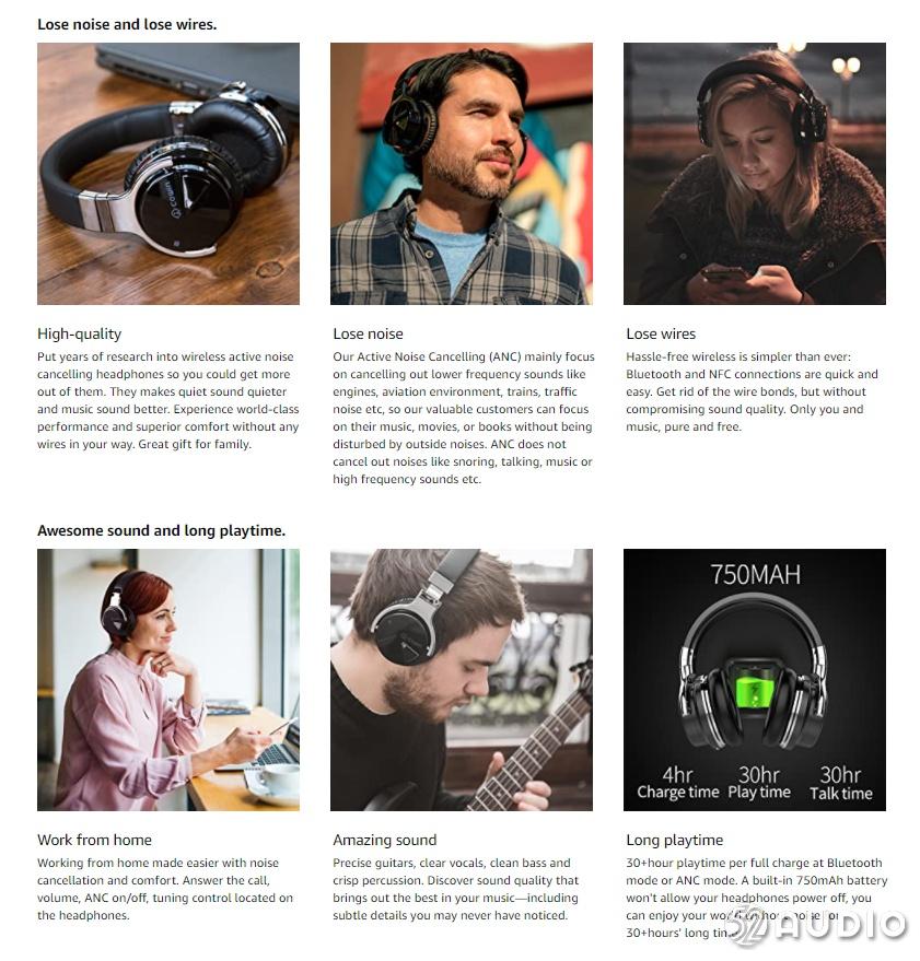 2021年2月美国亚马逊头戴式蓝牙耳机销量排行榜-我爱音频网