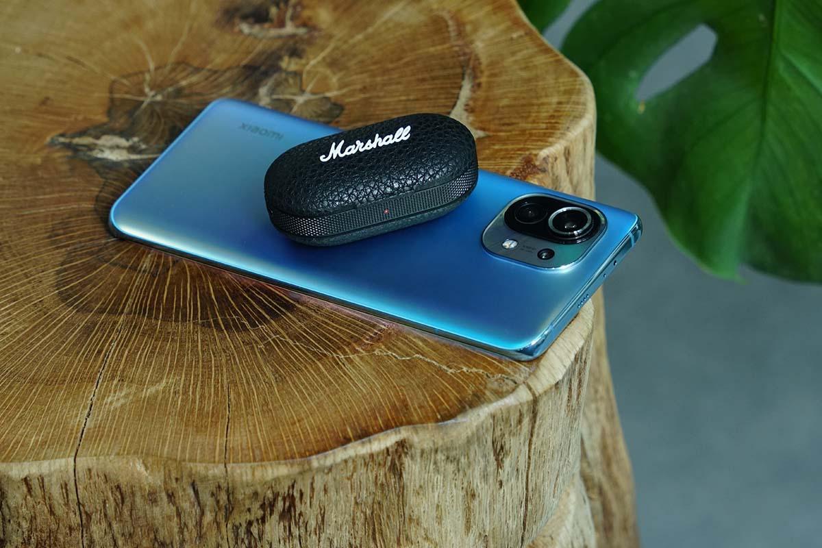 Marshall马歇尔首款真无线耳机Mode II体验评测,经典外观设计搭配标志之音-我爱音频网