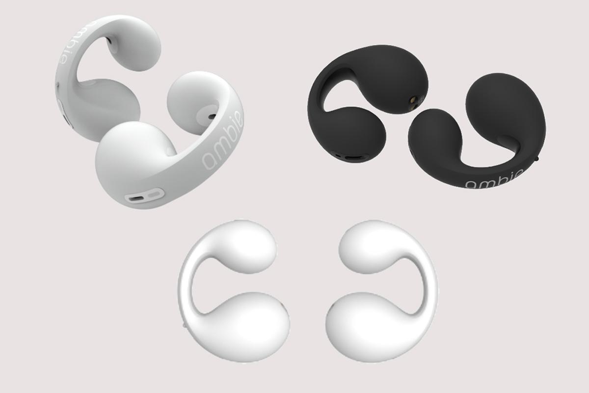 独特佩戴方式和音频体验,ambie sound earcuffs 耳夹式真无线耳机发布-我爱音频网