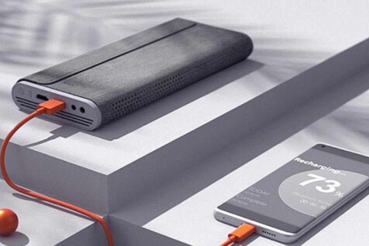 坚果M7投影仪,超清超亮超便携,还支持蓝牙音箱模式、反向充电-我爱音频网