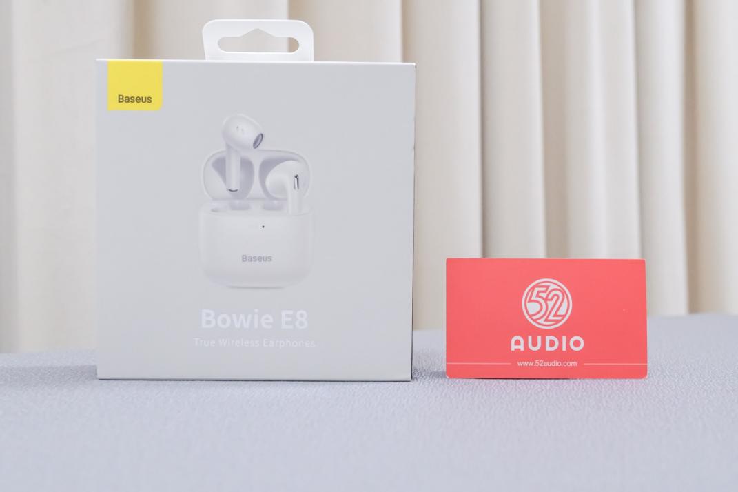 倍思Bowie E8真无线耳机,轻盈舒适半入耳式设计,支持低延时模式、APP定位-我爱音频网